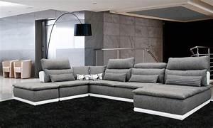 Canape Tissu Design Italien