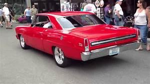 Pro Touring Red 1966 Chevy Nova