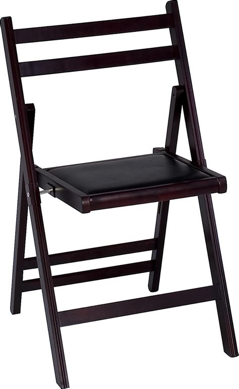 Cosco Wood Folding Chairs With Microsuede Seat by Cosco Products Cosco Wood Slat Folding Chair