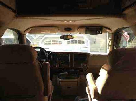 repair anti lock braking 2005 gmc savana 1500 electronic toll collection purchase used 2005 gmc savana 1500 quot regency quot conversion van in manahawkin new jersey united