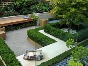 Kleinen Garten Gestalten : 50 moderne gartengestaltung ideen ~ Markanthonyermac.com Haus und Dekorationen
