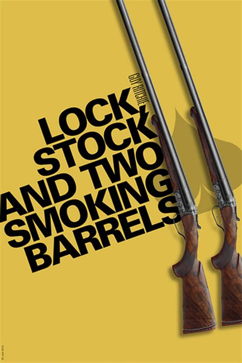 regarder lock stock and two smoking barrels 2019 film en streaming vf alternative movie poster for lock stock by gregoire guillemin