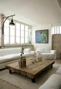 steinwand wohnzimmer selber bauen couchtisch selber bauen ideen und nützliche tipps archzine net