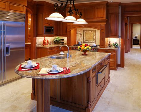 oval kitchen islands 79 custom kitchen island ideas beautiful designs