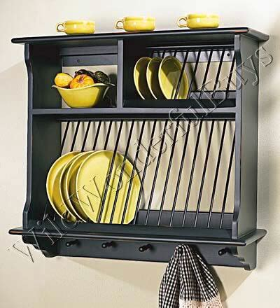 usable plate rack       plate storage    cute