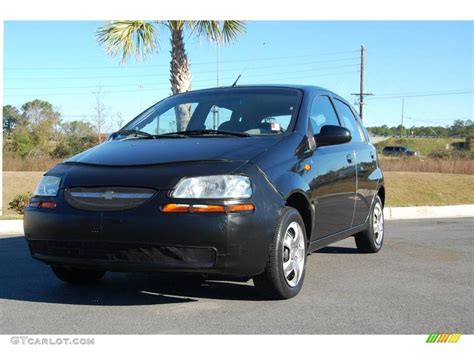 2004 Black Chevrolet Aveo Hatchback #2669292 Gtcarlot