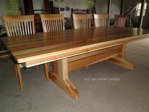 Custom Dining Room Table & Chairs by Old Farm Amish