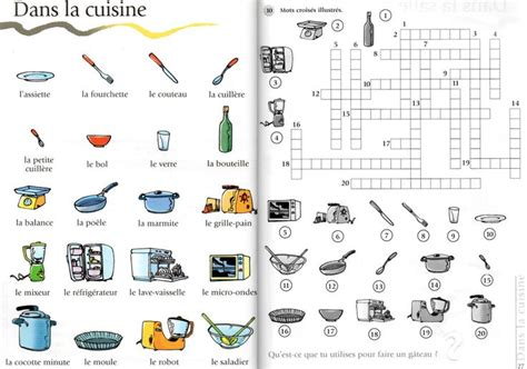 jeux de cuisine de sandwich 218 best images about fle lexique de la maison on