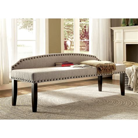 posts millersburg upholstered bedroom bench