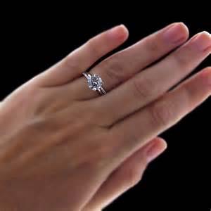 verlobungsring englisch 1 10 ct klassische verlobungsring mit rundem diamant in 18k weißgold punziert ebay