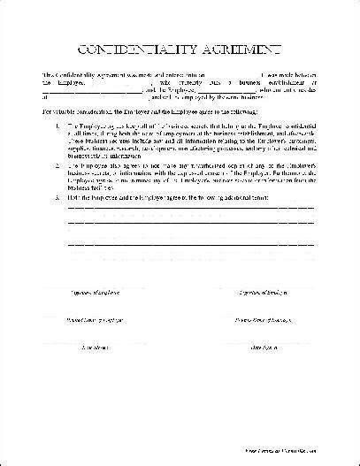 confidentiality agreement template bravebtr