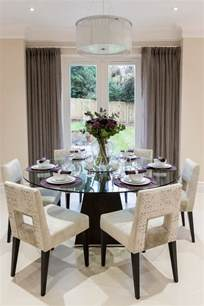 Dining Room Table Decorating Ideas Pictures 40 Glass Dining Room Tables To Rev With From Rectangle To Square