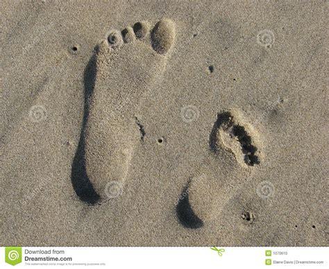 Sand Prints Stock Photo - Image: 1070610