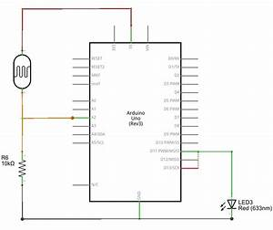 Photocell  Ldr  Sensor With Arduino - Theorycircuit