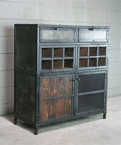 Buy a Hand Crafted Modern Industrial Liquor / Wine Cabinet