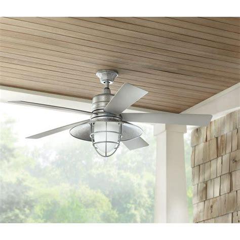 Grayton 34343 54 In Indooroutdoor Galvanized Ceiling Fan