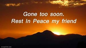 Where's Leo... Peace Friendship Quotes