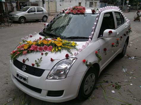 wedding car decoration 31 flowers delivery gurgaon