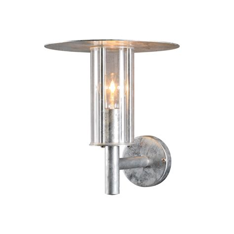 bathroom light fixtures konstsmide 660 320 mode galvanised coastal wall l 1978
