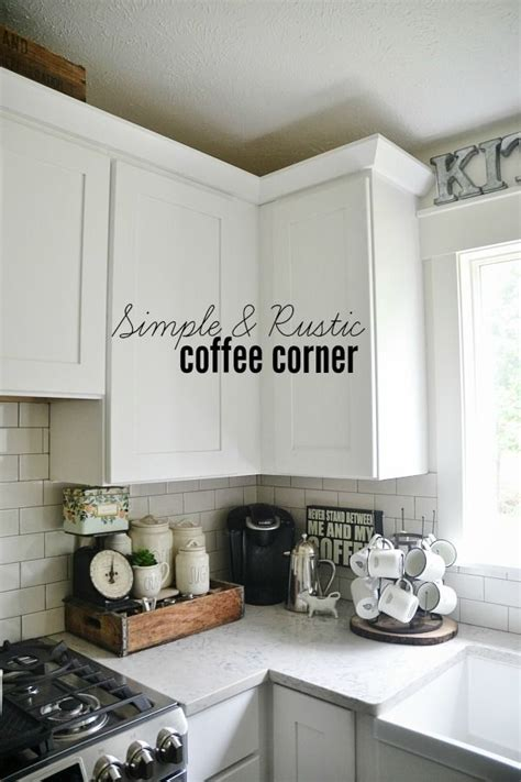 kitchen cabinets colours i how the wooden crate is used in this kitchen coffee 2933
