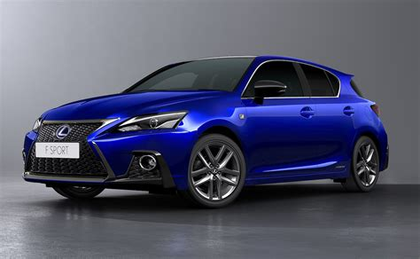 lexus ct200h 2018 lexus ct 200h facelift revealed with sharpened design