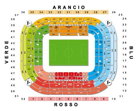 Ingresso 7 San Siro Giuseppe Meazza Stadion