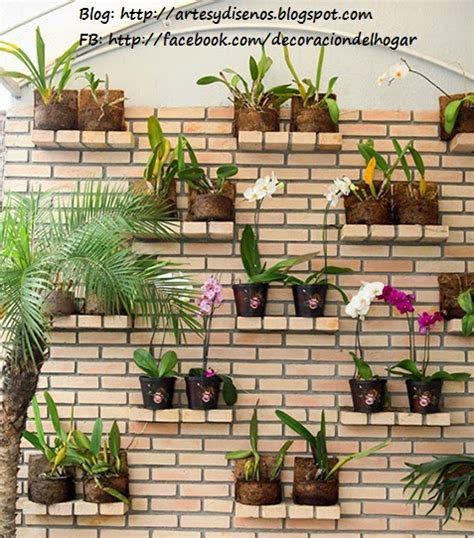 ideas  decorar  jardin vertical decoracion del