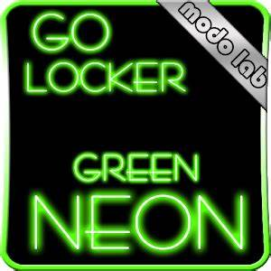 Download Green Neon GO Locker theme APK on PC
