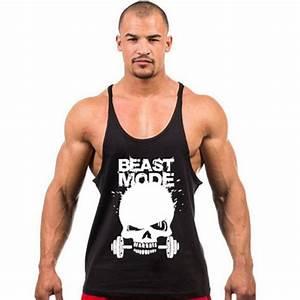 2017 New Brand Clothing Fitness Tank Top Men Stringer ...