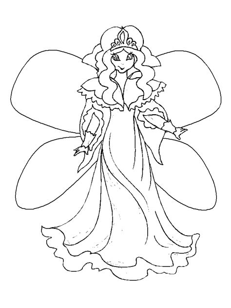 draw  fairy  kids coloring home