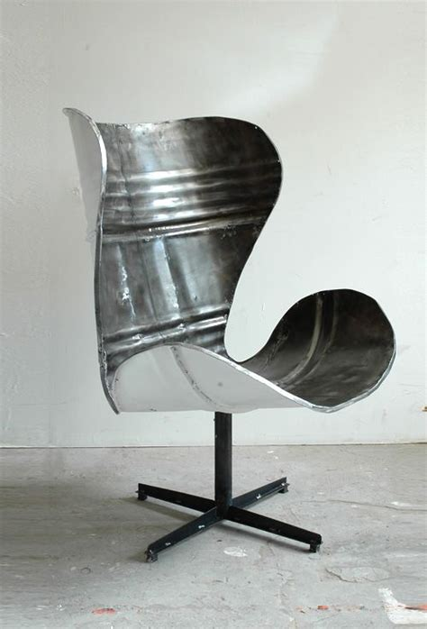 po paris design steel barrel chairhahagreat idea