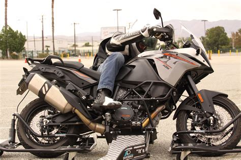 Testing Traction With A Ktm 1190 Adventure