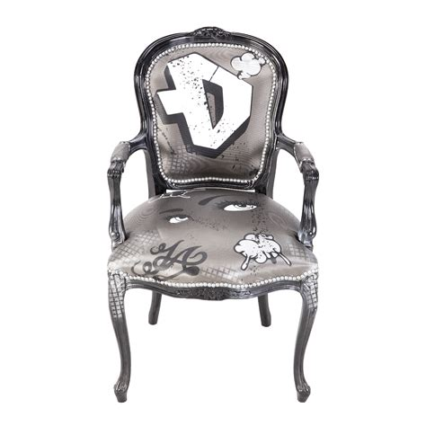 graffiti side chair rental trade show furniture rental