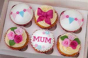 There are loads of choices with cupcakes. All sorts of ...
