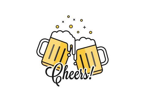 beer cheers cheers by tarun o dribbble