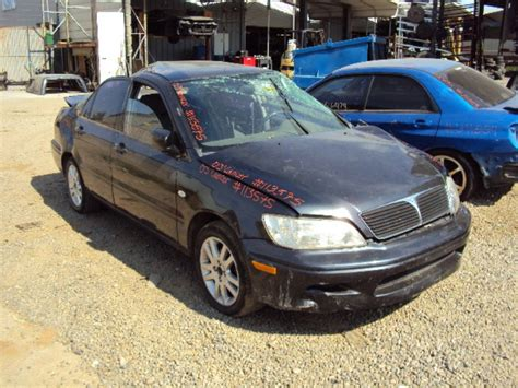 Mitsubishi Lancer 2003 Parts by 2003 Mitsubishi Lancer Es Model 2 0l Mt Fwd Color Gray Stk