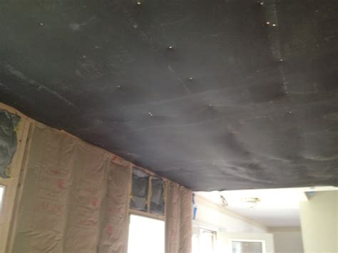 residential home soundproofing living room ceiling