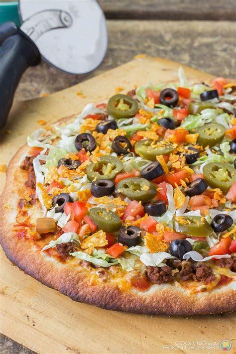 Taco Pizza Recipe Savory Dishes Taco Pizza Pizza