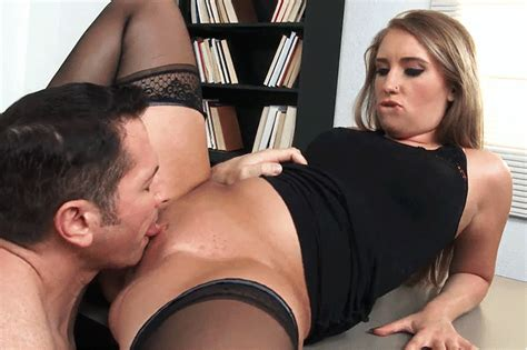 sexy alison rey will do anything to keep her job