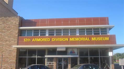 File:12th Armored Division Memorial Museum, Abilene, TX ...