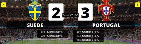 vid 233 os buts su 232 de 2 3 portugal doubl 233 ibrahimovic