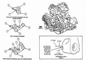 1994 Ford Ranger 2 3 Power Steering Air 5 Speed Serpintine