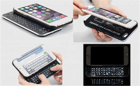 iphone 6 keyboard add a physical keyboard to your new iphone 6 the gadgeteer