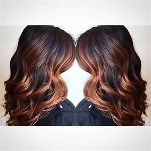 Ombré Hair Cuivré : dark copper balayage hair google search hair color ~ Melissatoandfro.com Idées de Décoration