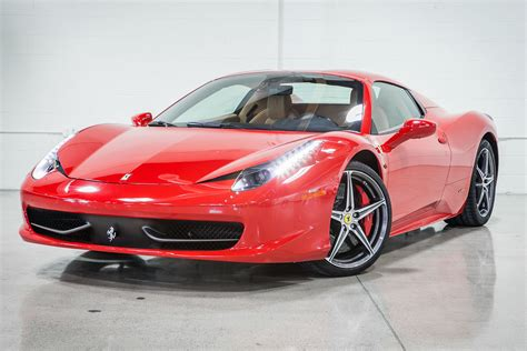 2) a competitive price is similar to or less than other companies' prices. 2012 Ferrari 458 Spider | Fusion Luxury Motors