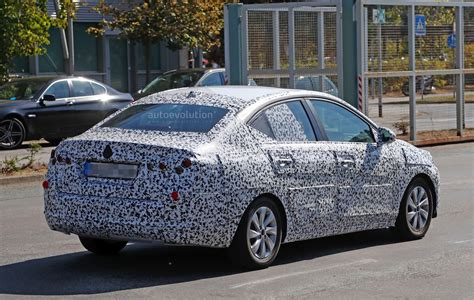 opel corsa 2018 opel corsa f sedan spied to be launched in china as