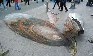 The 20 Most Amazing 3D Chalk Drawings | Heavy.com