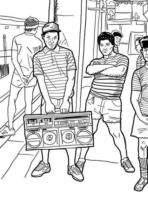 hip hop coloring book hip hop fashion coloring pages coloring pages