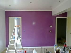 couleur mur cuisine ouverte With awesome association de couleur avec le taupe 5 deco salon prune