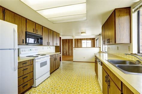 yellow kitchen floor 22 kitchen flooring options and ideas for 2018 pros cons 1218